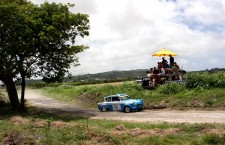 Anglias Double Up for Sol Rally Barbados 2013