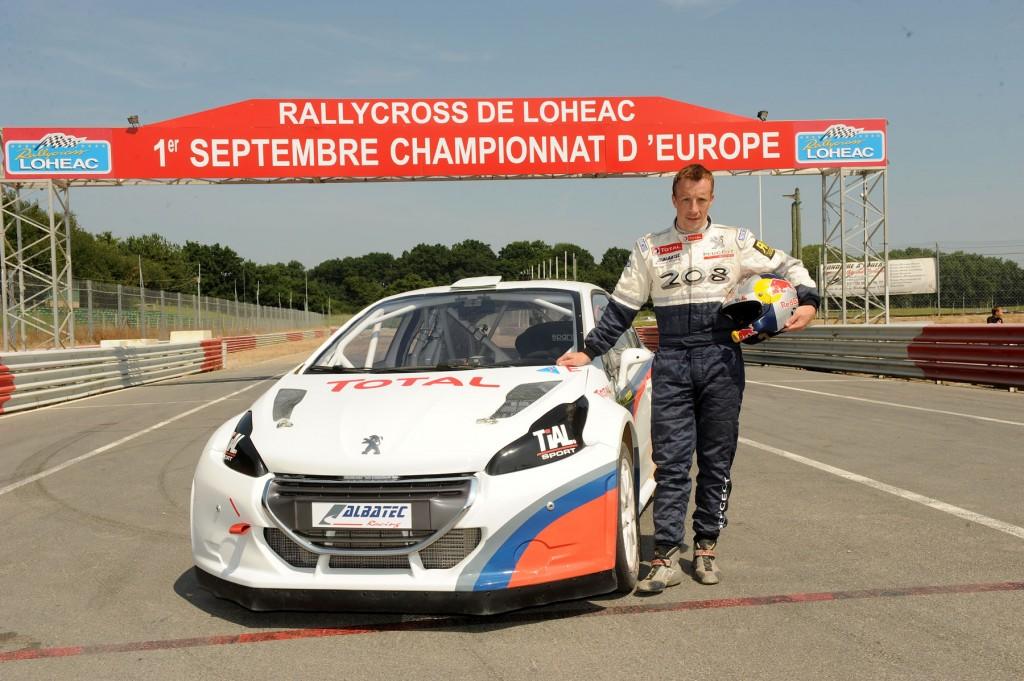 Kris Meeke RallycrossRX Debut