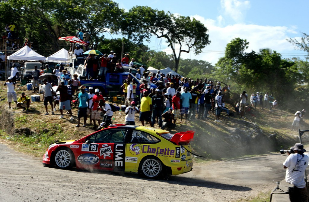 Paul Bourne - Sol Rally Barbados 2012