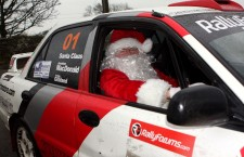 Santa Rallies for a Clause!