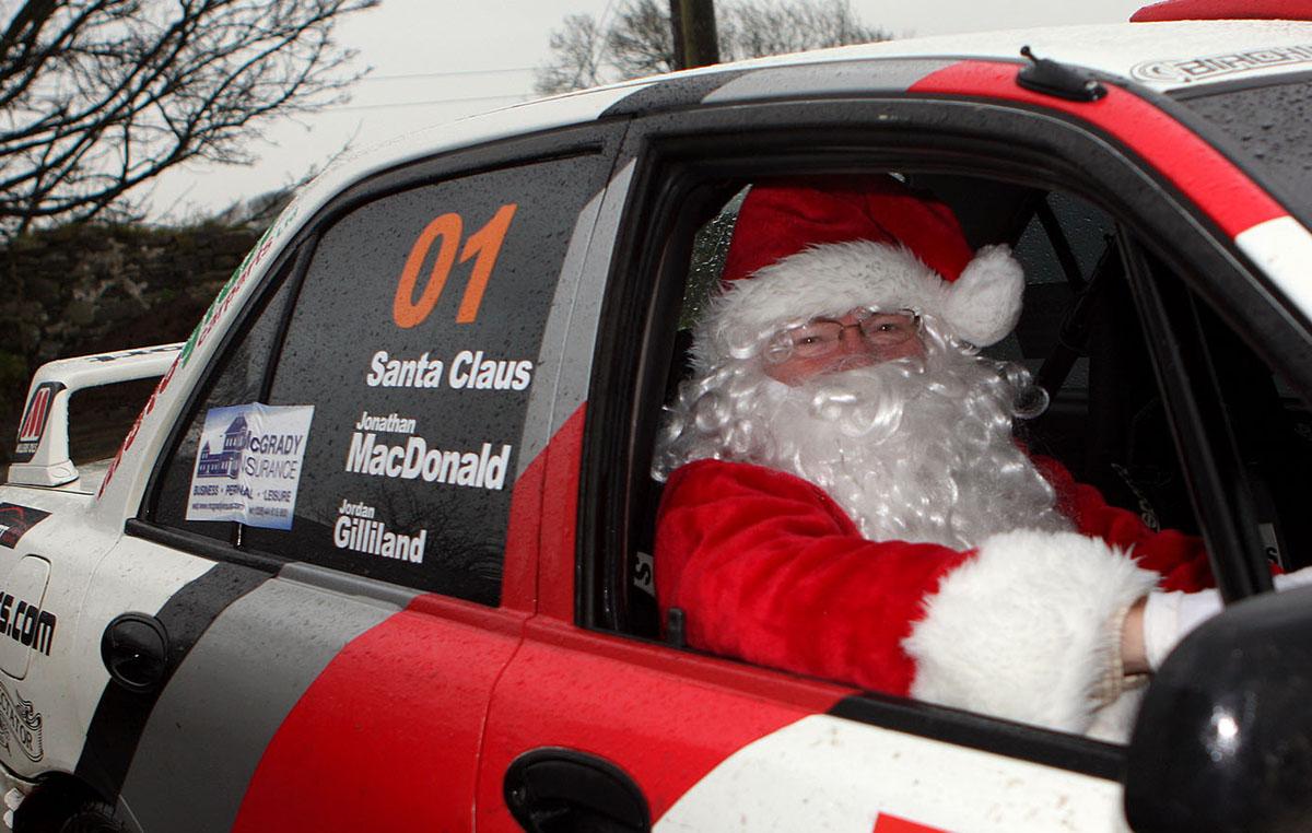Santa Rallies for a Clause!
