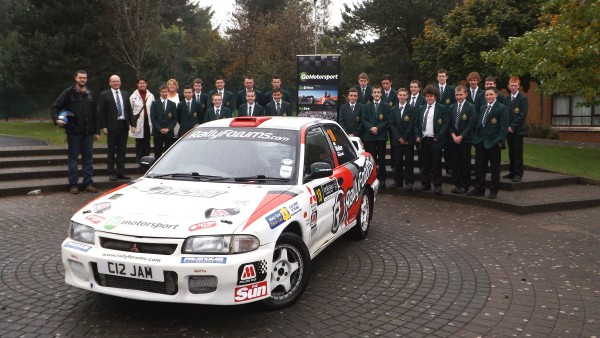 St. Malachy's High and St. Michael's Primary Receive the Go Motorsport treatment!
