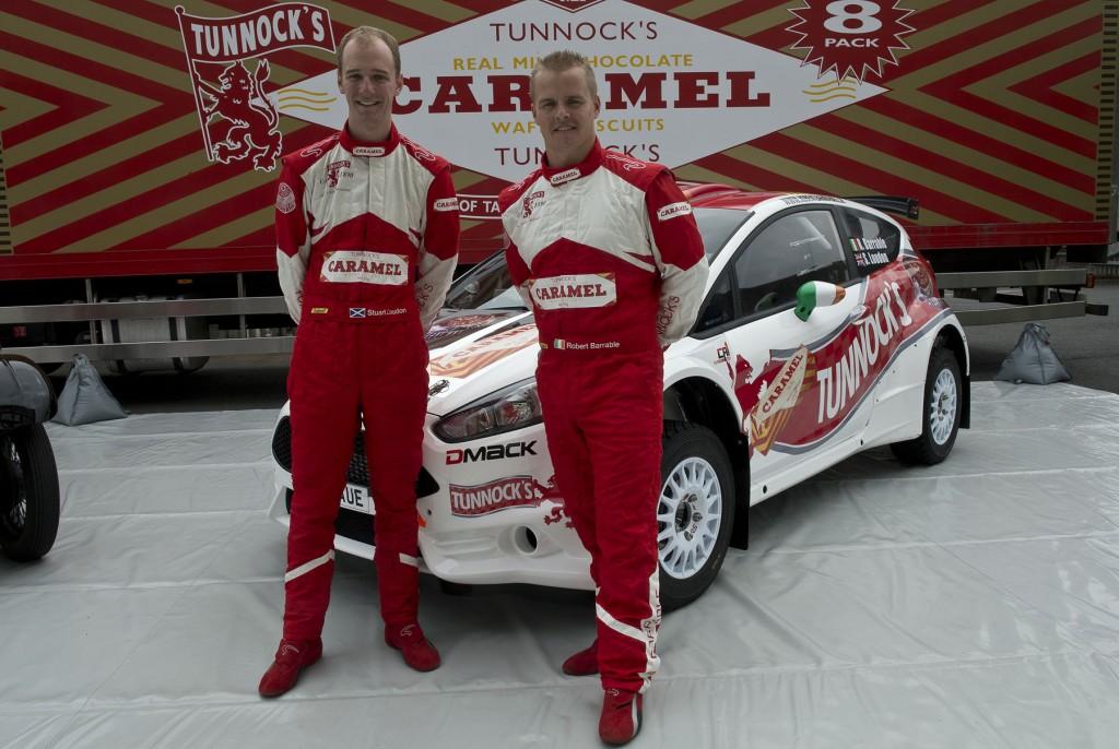 Tunnocks World Rally Team Launch 2013